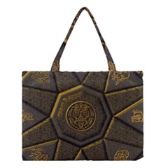 Aztec Runes Medium Tote Bag by BangZart