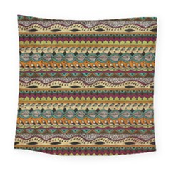 Aztec Pattern Ethnic Square Tapestry (large)
