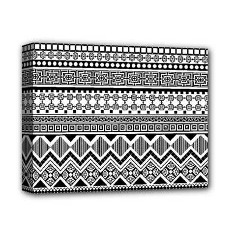 Aztec Pattern Design Deluxe Canvas 14  X 11  by BangZart