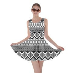 Aztec Pattern Design Skater Dress