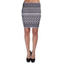 Aztec Pattern Design Bodycon Skirt