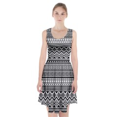 Aztec Pattern Design Racerback Midi Dress