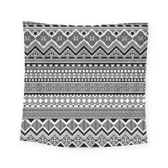 Aztec Pattern Design(1) Square Tapestry (small)