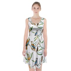 Australian Kookaburra Bird Pattern Racerback Midi Dress