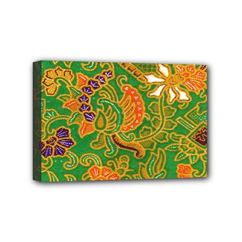 Art Batik The Traditional Fabric Mini Canvas 6  X 4