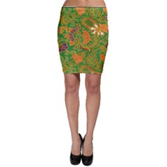 Art Batik The Traditional Fabric Bodycon Skirt