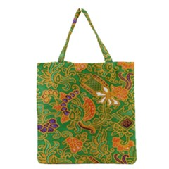 Art Batik The Traditional Fabric Grocery Tote Bag by BangZart