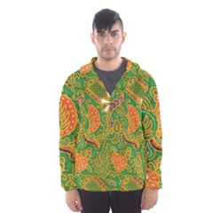 Art Batik The Traditional Fabric Hooded Wind Breaker (men)