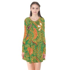 Art Batik The Traditional Fabric Flare Dress