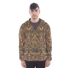 Art Indonesian Batik Hooded Wind Breaker (men)