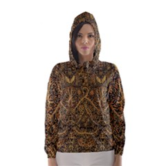 Art Indonesian Batik Hooded Wind Breaker (women)