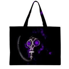 Gas Mask Zipper Mini Tote Bag by Valentinaart