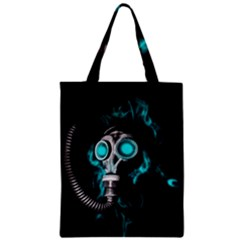 Gas Mask Zipper Classic Tote Bag by Valentinaart