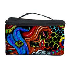 Art Color Dark Detail Monsters Psychedelic Cosmetic Storage Case by BangZart