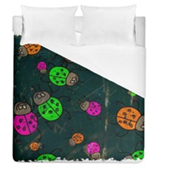 Abstract Bug Insect Pattern Duvet Cover (queen Size)