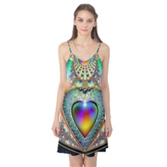 Rainbow Fractal Camis Nightgown