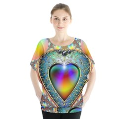 Rainbow Fractal Blouse