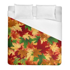 Autumn Leaves Duvet Cover (full/ Double Size) by BangZart