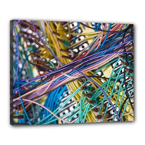 Circuit Computer Canvas 20  X 16  by BangZart