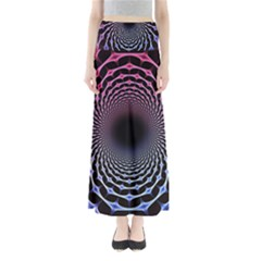 Spider Web Full Length Maxi Skirt
