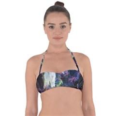 Fantastic World Fantasy Painting Halter Bandeau Bikini Top