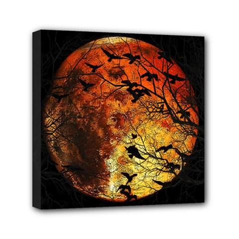 Mars Mini Canvas 6  X 6  by Valentinaart