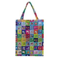 Exquisite Icons Collection Vector Classic Tote Bag