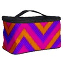 Chevron Cosmetic Storage Case View2