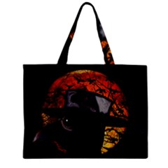 Bird Man  Zipper Mini Tote Bag by Valentinaart