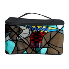 Elephant Stained Glass Cosmetic Storage Case