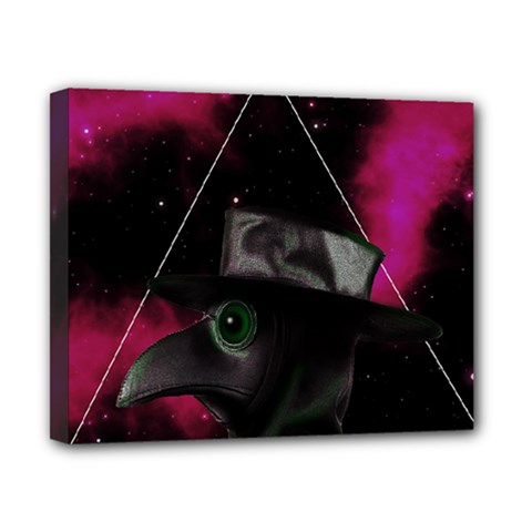 Bird Man  Canvas 10  X 8  by Valentinaart
