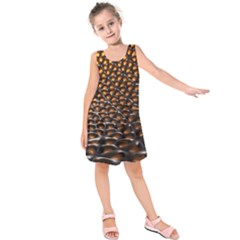 Digital Blasphemy Honeycomb Kids  Sleeveless Dress