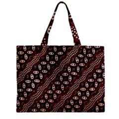 Art Traditional Batik Pattern Zipper Mini Tote Bag by BangZart