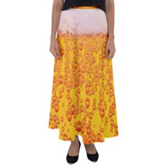 Beer Alcohol Drink Drinks Flared Maxi Skirt