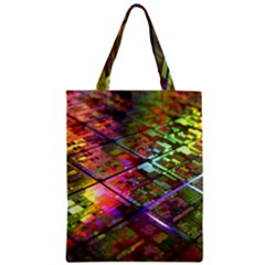 Technology Circuit Computer Classic Tote Bag by BangZart