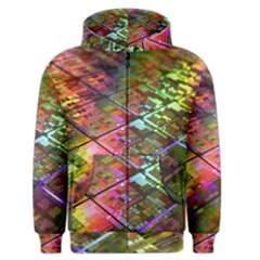 Technology Circuit Computer Men s Zipper Hoodie