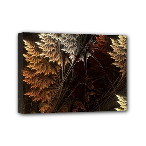 Fractalius Abstract Forests Fractal Fractals Mini Canvas 7  X 5