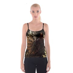 Fractalius Abstract Forests Fractal Fractals Spaghetti Strap Top
