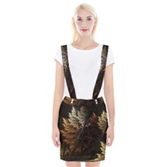 Fractalius Abstract Forests Fractal Fractals Braces Suspender Skirt by BangZart