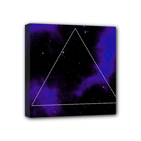 Space Mini Canvas 4  X 4  by Valentinaart