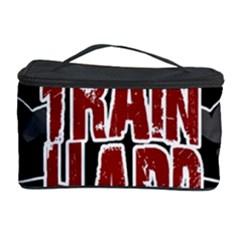 Train Hard Cosmetic Storage Case by Valentinaart