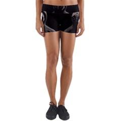 Gangsta Pug Yoga Shorts
