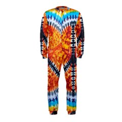 Tie Dye Peace Sign Onepiece Jumpsuit (kids) by BangZart