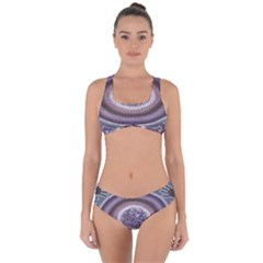Spirit Of The Child Australian Aboriginal Art Criss Cross Bikini Set