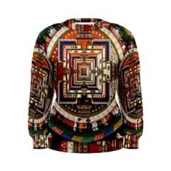 Colorful Mandala Women s Sweatshirt