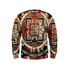 Colorful Mandala Kids  Sweatshirt