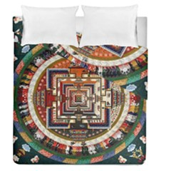 Colorful Mandala Duvet Cover Double Side (queen Size)