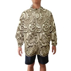 Golden European Pattern Wind Breaker (kids)