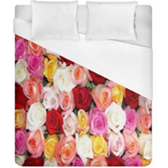Rose Color Beautiful Flowers Duvet Cover (california King Size)