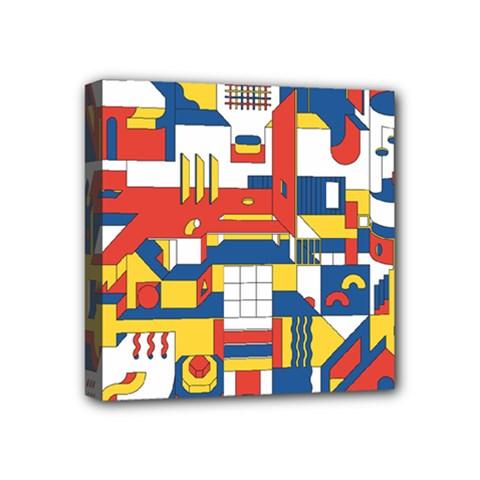 Hide And Seek Mini Canvas 4  X 4  by BangZart